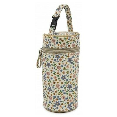 Online4babyPink Lining Insulated Bottle Holder - Busy Bees