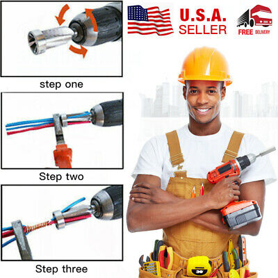 4 And 5 Square Cable Wire Stripping And Twisting Tool Tools US