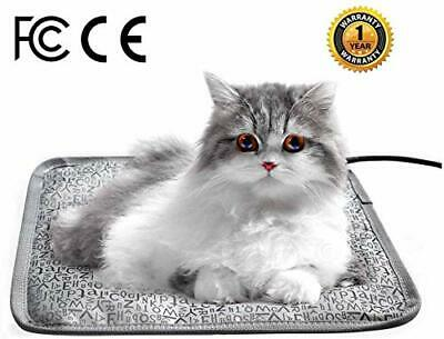Pet Heating Pad 27.9x17.7inch Electric Waterproof Heated Pet Mat for (Words)