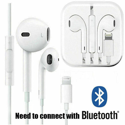 New For Apple iPhone 7 8 Plus X XS MAX XR Wired Headphones Headset Earbuds Gift