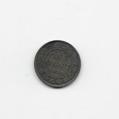 Canada > Large Cents 1859 1 cent     VF