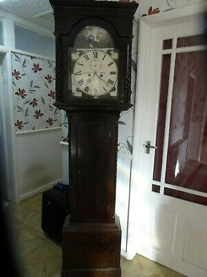 Longcase / Grand Father Clock  Georgian ? For Restoration