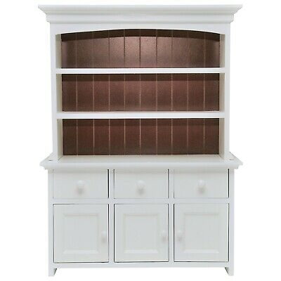 "FACTORY 2ND! Queens Treasures 18"" Doll KITCHEN CUPBOARD HUTCH  For American Girl"