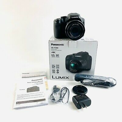 Panasonic Lumix DC-FZ80 4K 18.1 MP Digital Camera - Black