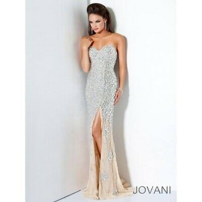 Jovani Crystal Gown - US Size 0