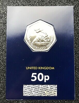 NEW megalosaurus 50P COIN MINT UNCIRCULATED