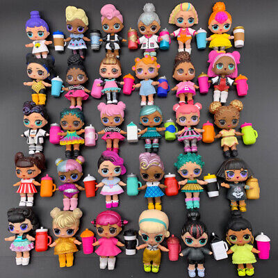 Random Lot 10 LOL Surprise Dolls with Dress Shoes Bottle for Doll Collection Fan