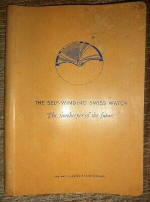 Vintage 1954 The Self Winding Swiss Watch Watchmakers Of Switzerland Horology