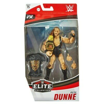 WWE Wrestling Action Figure Mattel Elite Collection 75 Pete Dunne Title Belt