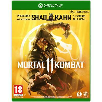 Warner Bros XBOX ONE Mortal Kombat 11 Giochi