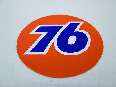 2 in-12 in Union 76 Vintage Style Vinyl Decal Sticker Gasoline Petroleum Racing