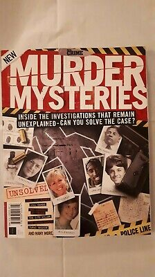 Real Crime Murder Mysteries Magazine - New 2nd Edition