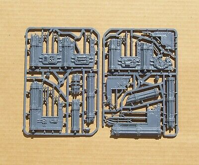 40K Sector Imperialis Ruins Ruined Walls on Sprue