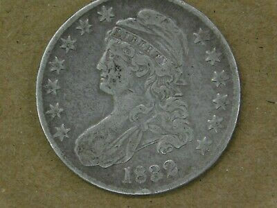 1832 Capped Bust Half Dollar  (50 C.) circulated
