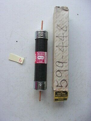 New In Box Buss Bussman One Time Fuse Nos-100 100 Amp 100A (163-2)