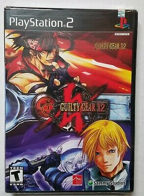 Guilty Gear X2 (PlayStation 2) - NEW / SEALED / 2003 / PS2
