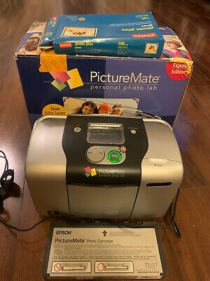 Epson Picture Mate Personal Photo Lab Home Picture Printer Model B271A Bundle