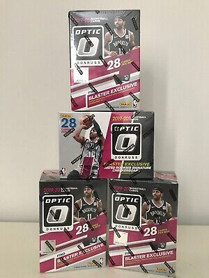 2019 2020 Panini Donruss Optic Basketball Blaster Boxes,Blaster Exclusive,Sealed
