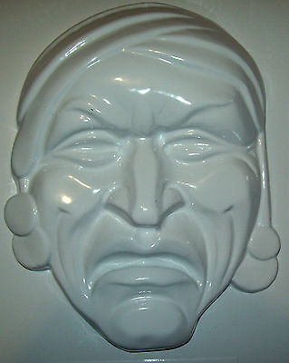 Large Pirate Face Plaster Mould