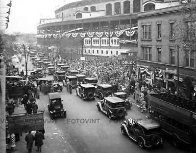 WRIGLEY FIELD Photo Picture 1929 CHICAGO CUBS WORLD SERIES Print 8x10 or 11x14