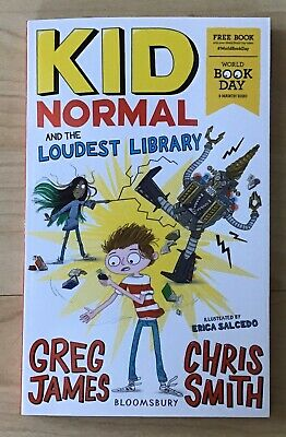 World Book Day 2020: Kid Normal and the Loudest Library (Paperback) *NEW*