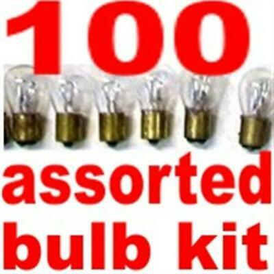 20 cents each-100 light bulbs Chev Pontiac Olds Buick