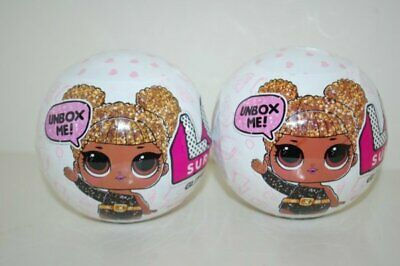 LOL Surprise! Glitter Series 1 Doll Lot of 2 Brand New Authentic Quick Ship!