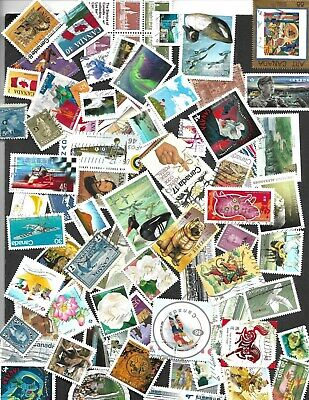 Used Canada Stamps 100 To 1200   All Different