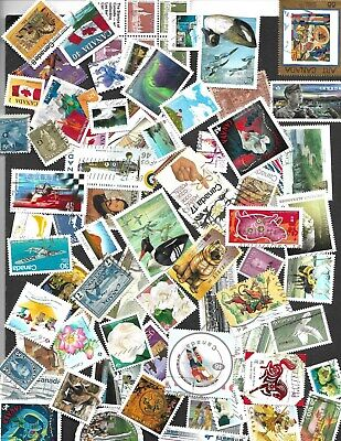 Lot#2   Used Canada Stamps 100 To 1200   All Different