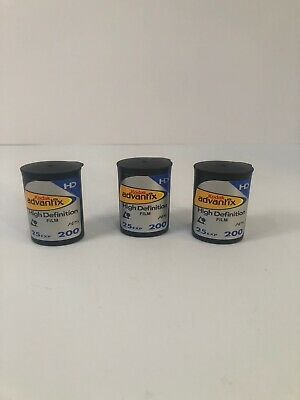 3 Rolls Kodak Advantix APS ISO 200 25 Exp Color High Definition