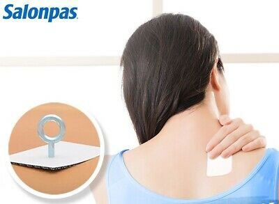 SALONPAS Hisamitsu Muscle Pain/Backache/Strains Relieving 20 Patches(6.5x 4.2cm)