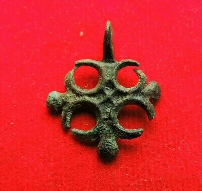 Ancient Bronze Viking Cross Kievan Rus