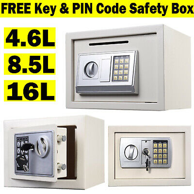 Electronic Password Security Safe Money Box Safety Suit for Wardrobe Studyroom