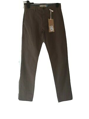 New Mens / Boys Next  Stretch Chino Slim Camel Trousers Size 28 reg