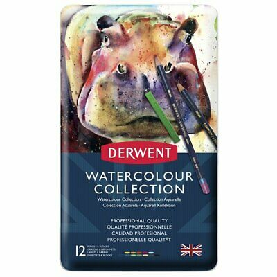 Derwent Watercolour Collection 12 & 24 Tins