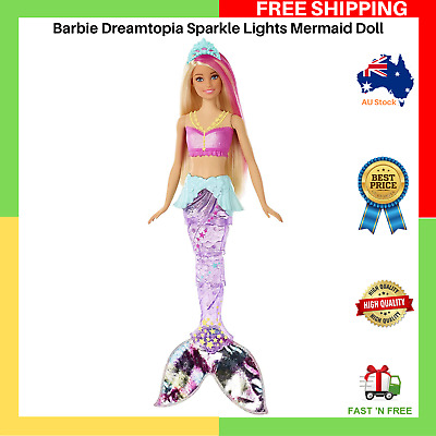 Barbie Dreamtopia Sparkle Lights Mermaid Doll - NEW - FAST AND FREE SHIPPING AU