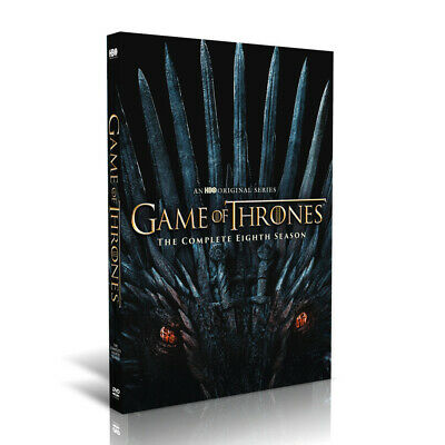 Game of Thrones The Complete Eighth 8th Season 8 DVD BRAND NEW SHIPS FAST.