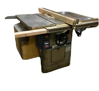 "Powermatic 66 10"" Table Saw Left Tilt 3hp 220v 52"" Rip Capacity on Mobile Base"
