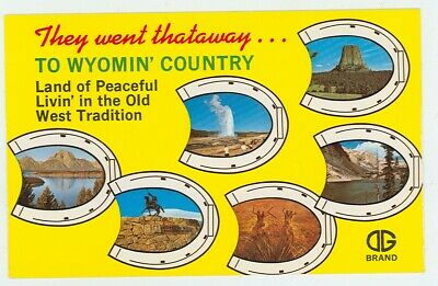 Wyoming, Land of Wide Open Spaces (YZmiscWY156