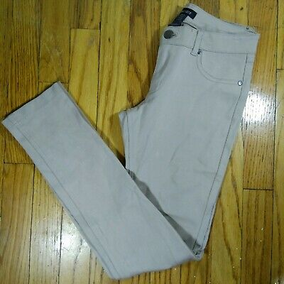 NWOT Shinestar Beige Stretch Jegging Pants S Small Womens Skinny Leg