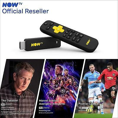 NOW TV Smart Stick With 1 Month Entertainment, 1 Month Sky Cinema + 1 Day Sky