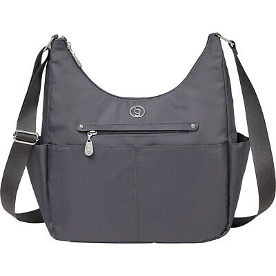 bg by baggallini RFID Phoenix Hobo 5 Colors Day Travel Bag NEW