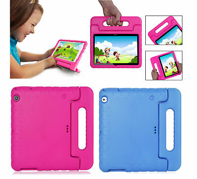 Kids Handle Case EVA Foam Stand Shockproof Cover For Huawei MediaPad T3 T5 M5 10
