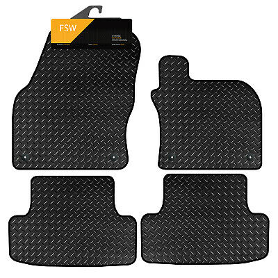 FSW 1 Series Hatch F20 11-On Fully Tailored 3MM Rubber Heavy Duty Car Floor Mats