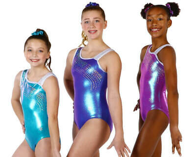 NEW! Breeze Gymnastics or Dance Leotard by Snowflake Designs-3 colors to choose
