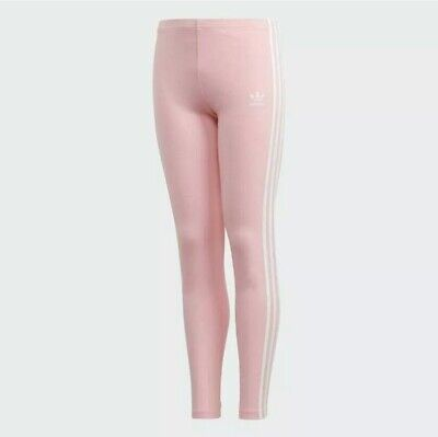 Adidas Originals Youth Girls Size M J3STR Soft 3 Stripe Leggings Pink DH2663