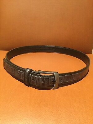 Bill Lavin Belt Soft Collection Sz40 Hand Made And Sewn In Ancient China