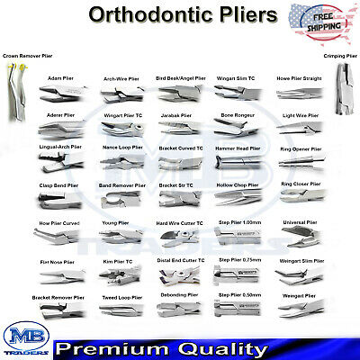 Dental Wire Bending Pliers Forming Loop Orthodontics Teeth Braces Archwire
