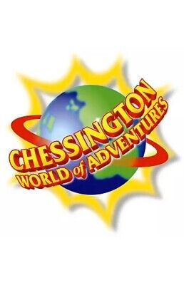 Chessington World Of Adventures - E-Tickets x 2 - Monday 30 March 2020
