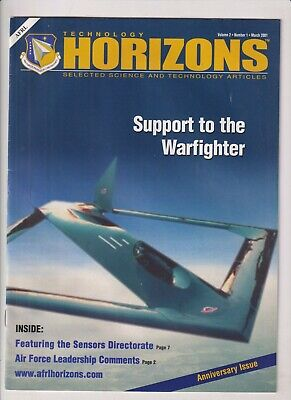 Technology Horizons Mag Support To The Warfighter March 2001 021920nonr